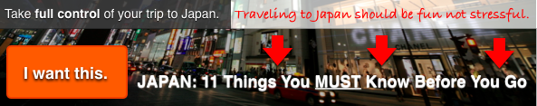 JAPAN Travel Tips